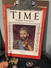 If you are not familiar with Haile Selassie, he is a world leader worth reading up on - but beyond the limited story in the 1936 Man of the year coverage
