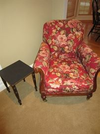 Walter E. Smith Floral chair $250 OBO