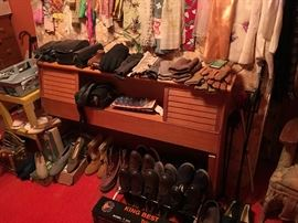 shoes, cameras, scarves