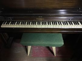 Kimball upright piano in great condition