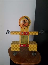 We have several whimsical clocks