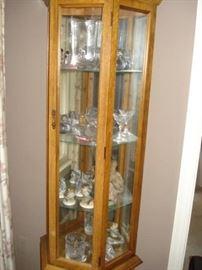 glass & wood display