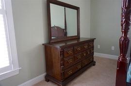 Sumter Cabinet Co Dresser & Mirror