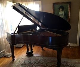 1904 Model O Steinway Baby Grand Piano