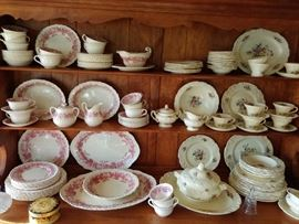 "Wedgewood ""Bramble"" and George Jones and Sons England"