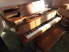 1988 Baldwin Grand piano Model L- we just had it valued at around $15,000 make an offer (needs around $500 to $1,000 maintenance) very good condition