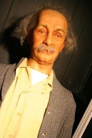 Einstein - The one and only Figure of Einstein signed by Katherine Sturburgh and Mr. Einstein himself.