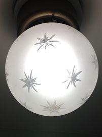 Midcentury Starburst dome light