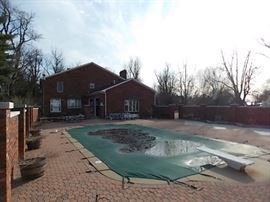 pool and patio, privacy fence