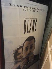 Blanc poster