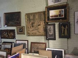 100's Oils, prints & lithographs