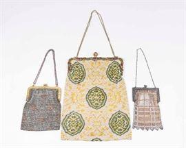 Lot 19: 3 Vintage Bags