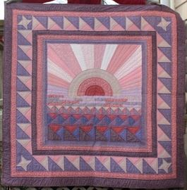 Beautiful Quilt by local artist