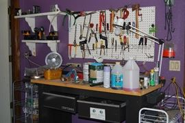 Tool Selection and Work Bench