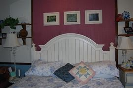 Thomasville King Bedroom Set, Floor and Table Lamps, Décor, etc.