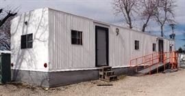 Hunting / Jobsite / Office Trailer, 60', Newly Remodeled / Full Kitchen, Central AC, Propane Furnace, More!