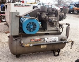 Worthington Compressors Premair Heavy Duty Industrial Air Compressor, 24 HP, 120 Gallon Tank