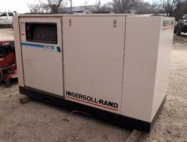 "Ingersoll-Rand 50 HP Rotary Screw Air Compressor, Model SSR-EPE50, 208 CFM, 125 Max PSI, 3 Phase, 55""T x 42""D x 93""W, Original Manuals Included"