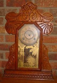 Oak Kitchen Clock
