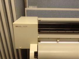 Hewlett Packard HP-GL2 DesignJet Plotter Blue Print Printer