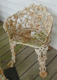 Iron Patio Chair
