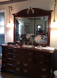 Sumter Cabinet Co. Dresser with mirror