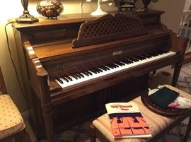Very nice Kimball piano.