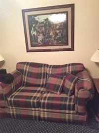 80's love seat... Comfy!
