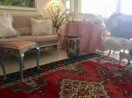 Furnishings in a riot-of-color