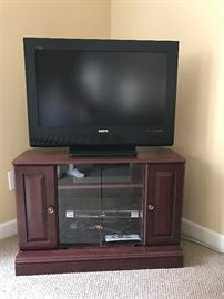 Flatscreen TV,  TV Stand