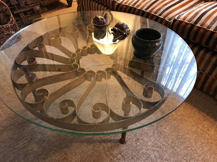 Great Design Glass Top Coffee Table