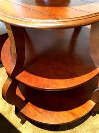 LOVE This Three Tier Side Table...