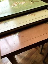 Nesting tables...SO CUTE!...