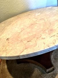 Even A Marble Top Table...