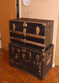 Antique/Vintage Steamer Trunks