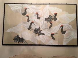 oriental hanging screen