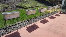 Custom-Made Metal Plant Stands
