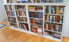 Two Bookshelves