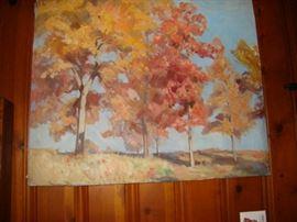 Paul Sargent painting