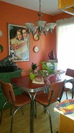 Vintage 5pc Formica top Kitchenette set $300