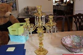 2nd Heisey candlelabra