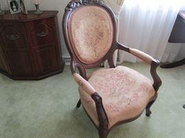 Elegant tapestry upholstery