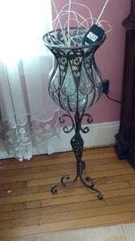 Floor standing decorative vase