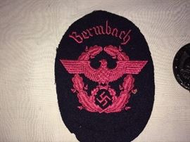 SS police Red Eagle Patch