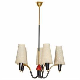 Mategot style chandelier