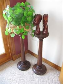 Pair Plant stands