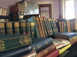 Early volumes of the work of Louisa May Alcott