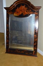 Elegant Oriental Themed Mirror
