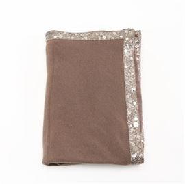 ce17d2c6c30 Armand Diradourian Brown Cashmere Shawl: An Armand Diradourian brown  cashmere shawl. This shawl has