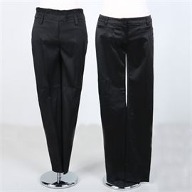 5798ad0e6c2 Alessandro Dell'Acqua Black Dress Pants: A group of two pairs of pants by